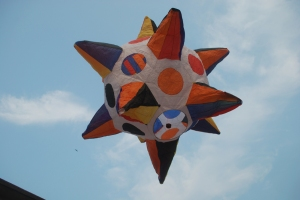 Sachin Mukherjee's radiant sun fanush