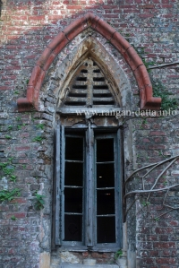 Gothic window, Gas Crematorium, Kolkata