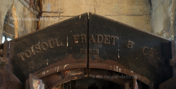 Crematorium furnace manufactured by Taisoul Fradet & Co., Paris
