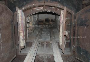 Interiors of the furnace, Gas Crematorium