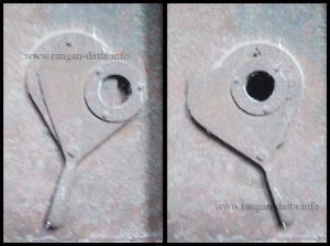 Peep Hole (L: Close R: Open) Gas Crematorium, Kolkata