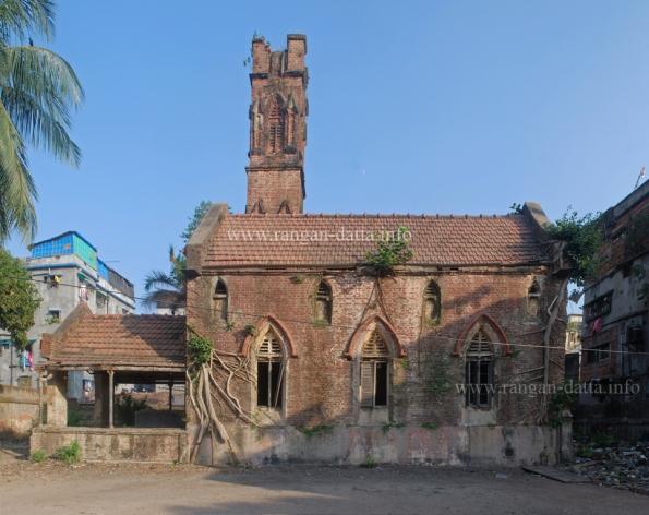 Gas Crematorium (side view), Crematorium Street , Kolkata