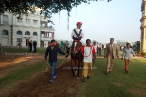 Winner of a horse race, Race Course, Kolkata