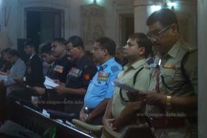 Representatives of Police, Army, Navy and Air Force, Remembrance Day, Kolkata