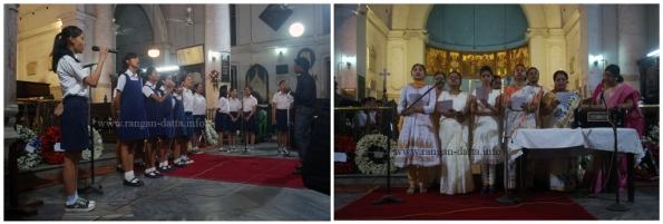 Choirs, Remembrance Sunday, St. John's Church, Kolkata