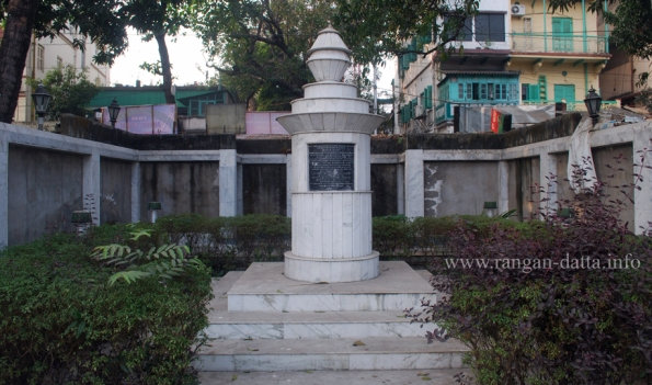 David Hare's Grave, College Square, Kolkata