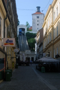 Zagreb Funicular and Lotrščak Tower