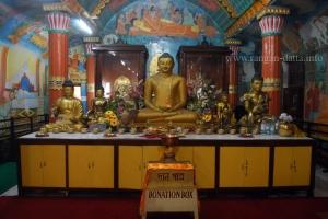 Interiors of Mahabodhi Society