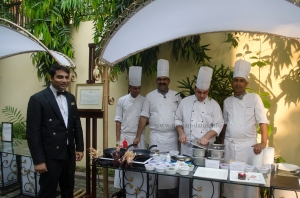 Managers and Chefs from The Dinning Room (The Taj Bengal) gear up for Goût de France