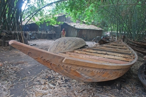 Semi prepared boats in Balgarh