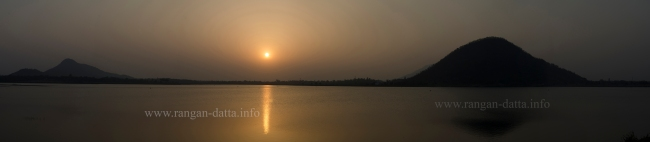 Sunset at Baranti (Boronti) Lake