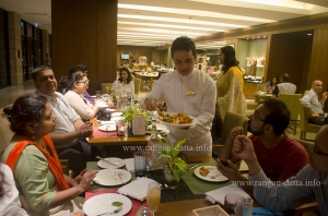 Metiabruz Dawat being served at Eden Pavalion, ITC Sonar, Kolkata