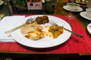 Mughlai Parantha with Kebabs and Tikkas