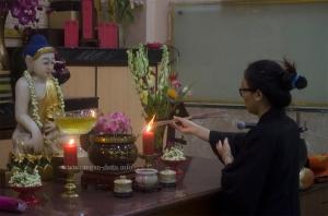 Preparation starts at Fo Guang Shan Monastery, Tangra, Kolkata