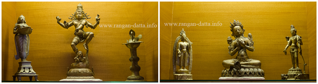Artifact, recovered from the old hotel, displayed at Legacy Lounge, The Lalit Great Eastern Hotel