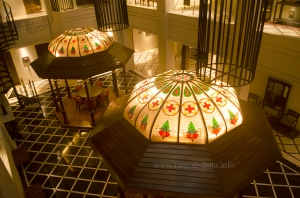 Gazebos at Atrium Lobby