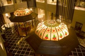 Gazebos at Atrium Lobby
