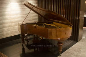 Grand Piano at the lobby of Great Eastern Hotel