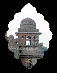 Jahaz Mahal's Pavilion