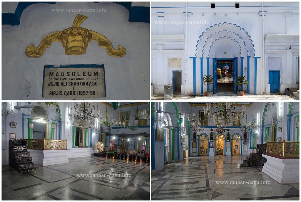 Exteriors and interiors of Sibtainbad Imambara, Metiabruz, Kolkata