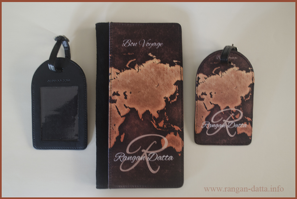 Customized Passport Holders and Luggage Tags from Perfico