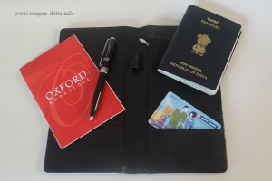 Inside Perfico's passport holder