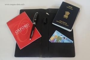 Inside Perfico's passport holder