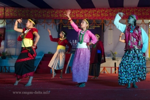 Ethnic Dance Show at Lampokhari Festival, Aritar