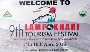 Lampokhari Festival Poster