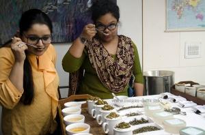 Bloggers turn tea tasters