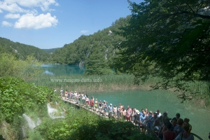 Human Traffic Jam, Plitvice Lakes National Park