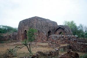 Another view of Balban's Tomb, Mehrauli, Delhi