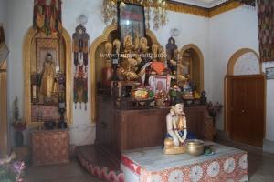 Altar of Nipponzan Myohoji (Japanese) Buddhist Temple