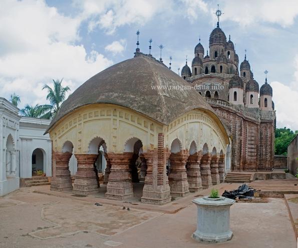 Lalji Temple, Rajbari Complex, Ambika Kalna
