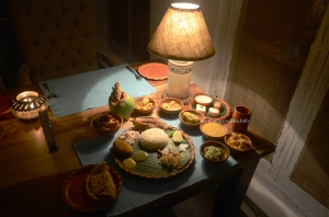 The Royal Spread, The Rajbari, Bawali