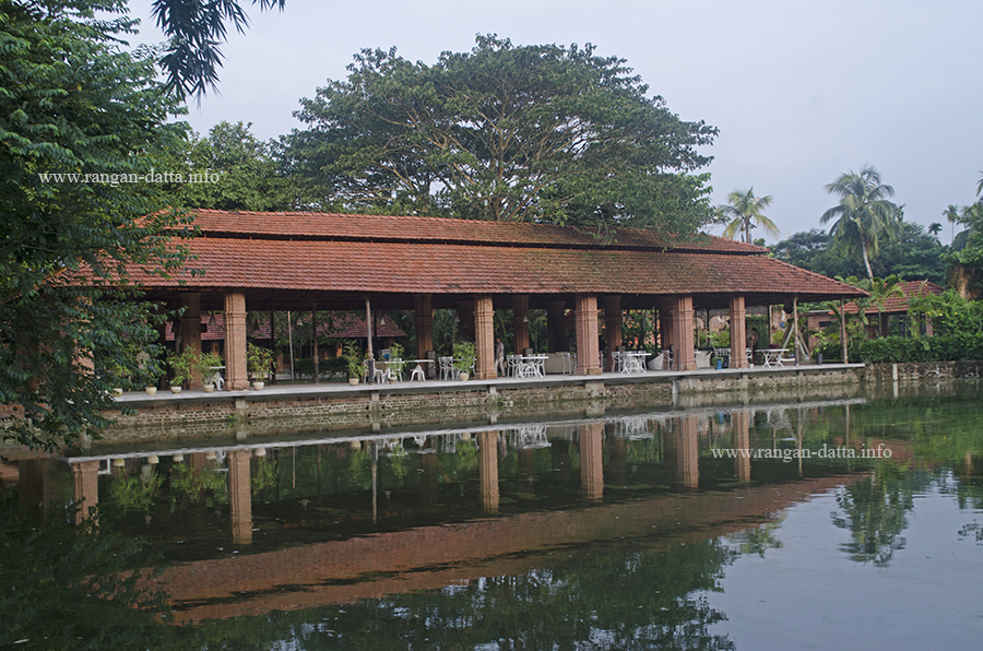 Lotus Pavilion, The Rajbari Bawali