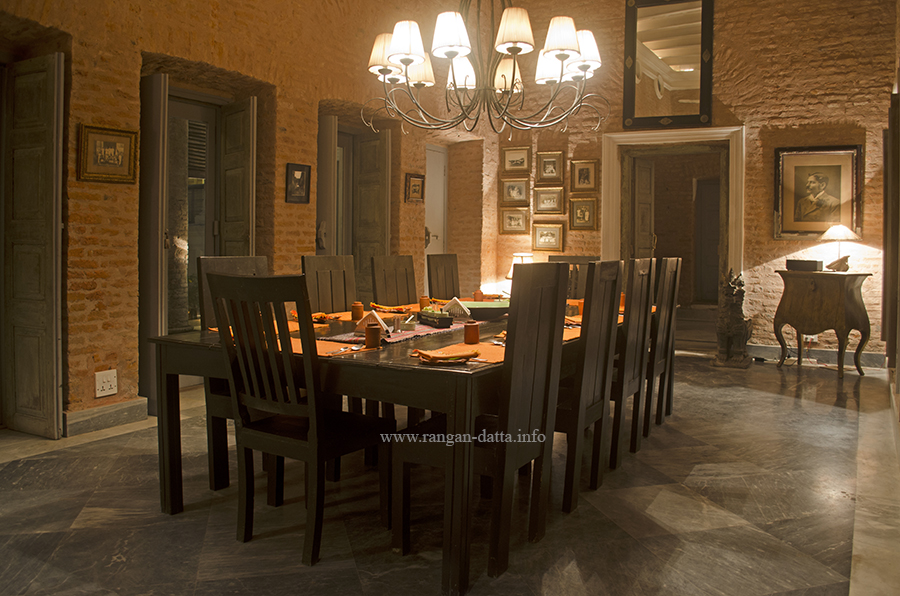 Thakurdalan, turned Dinning Hall, The Rajbari Bawali