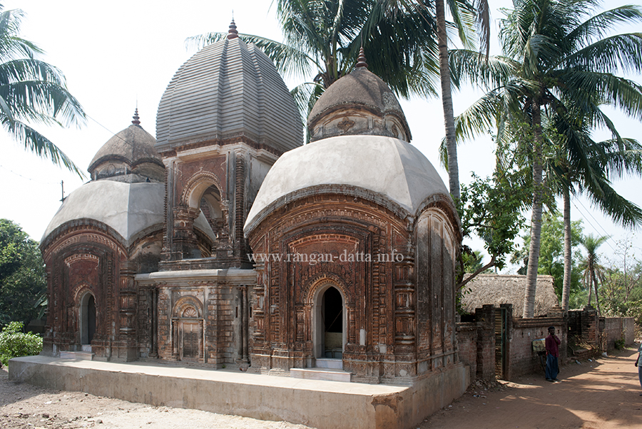 The two Shiva Temples and Dol Mancha