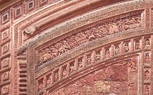 Details of terracotta ornamentation