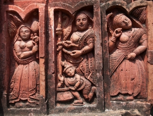 Terracotta Panel, Lakshmi Janardhan Temple, Debipur
