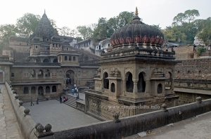 Cenotaph Complex, Maheshwar Fort, MP