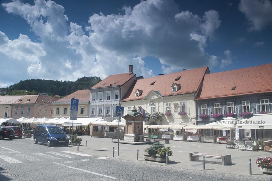 King Tomislav Square, Samobor, Croatia