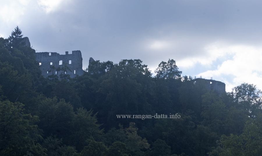 Ruined Samobor Castle, atop Tepec Hill, Samobor, Croatia