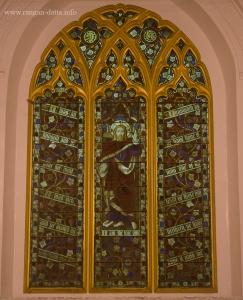 Stained Glass, St. Stephen's Church, Kolkata