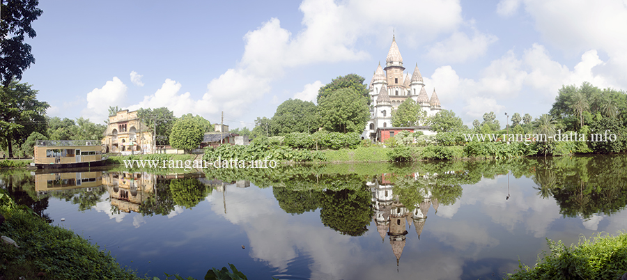 Panoramic view of Hanseswari Temple, Bansberia, Hooghly