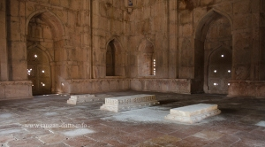 Interiors of Darya Khan's Tomb, Mandu