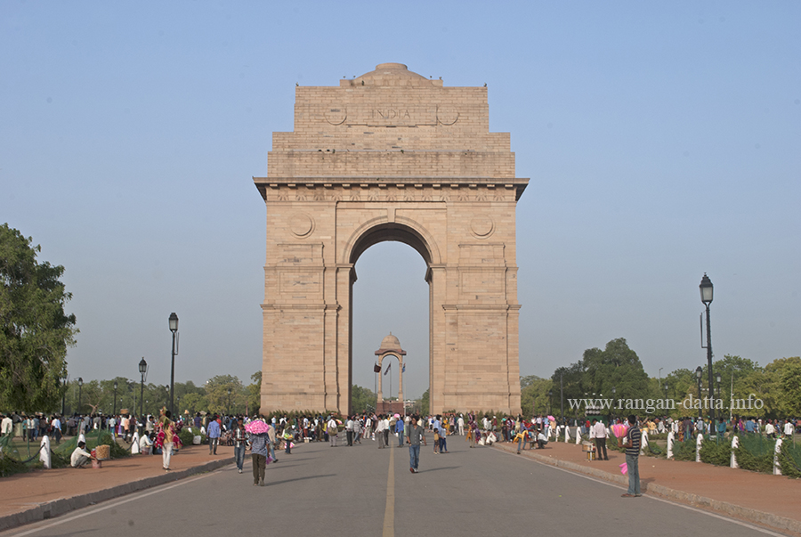 India Gate, Rajpath (Kingsway), New Delhi