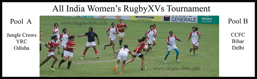 All India Women's Rugby XVs Tournament 2016, CCFC, Kolkata