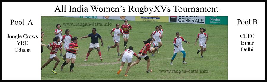 All India Women's Rugby XVs Tournament 2016, CCFC, Kolkata