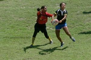 Action between Jungle Crows and YRC at CCFC